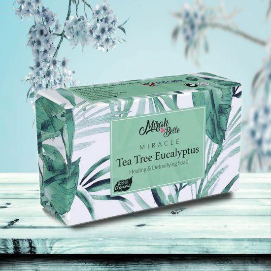 Tea Tree – Eucalyptus - Handmade Organic Soap - Eczema & Infections - Face & Body