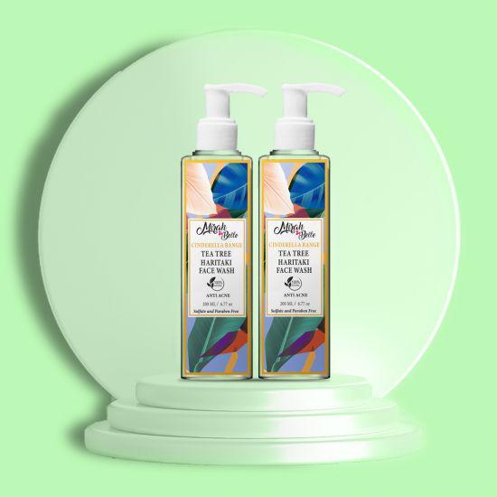 Mirah Belle Naturals Tea Tree Anti Acne Face Wash