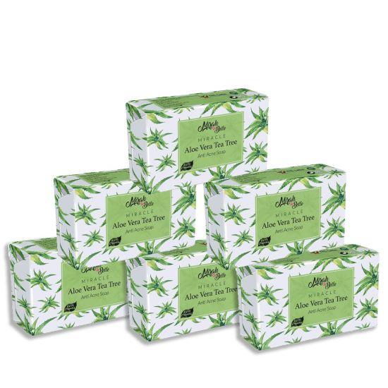Mirah belle Aloe vera tea tree handmade soap