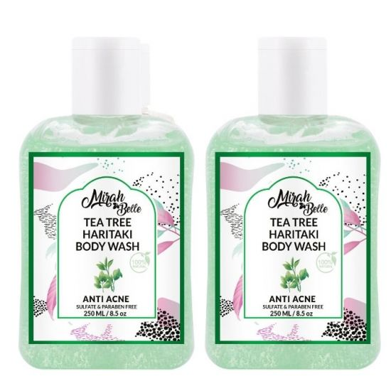 Mirah Belle Anti Acne Tea Tree Body Wash
