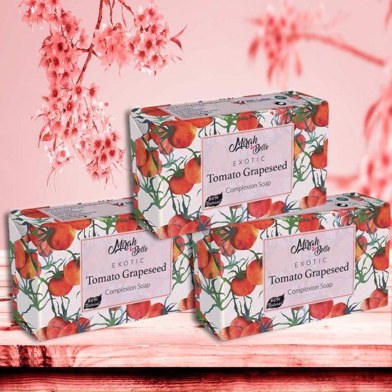 Mirah Belle Tomato Grapeseed Skin Lightening Soap