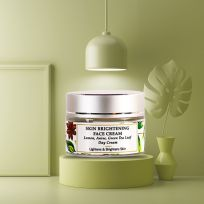 Lemon, Anise Seed, Mulberry - Natural Face Cream - Skin Brightening - Paraben Free