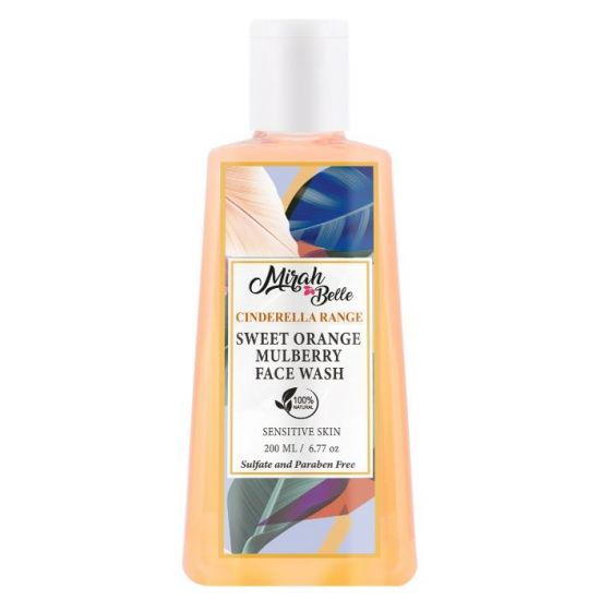 Sweet Orange Skin Brightening Face Wash - Paraben Free