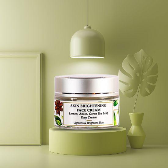 Lemon, Anise Seed, Mulberry - Natural Face Cream - Skin Brightening - Paraben Free