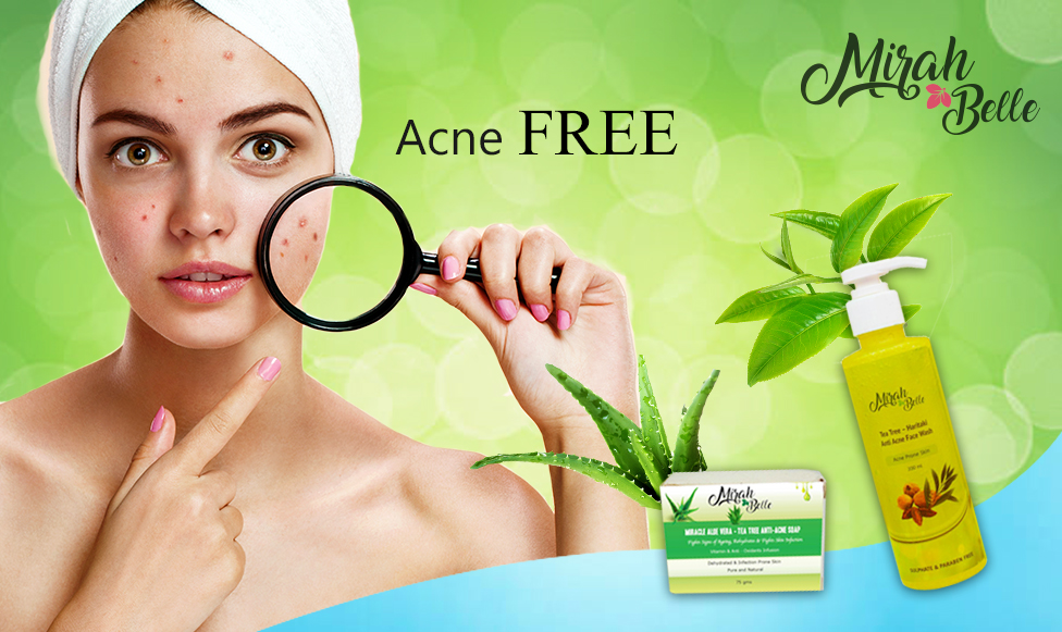 Fresh And Healthy Acne Free Skin
