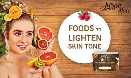 Foods To Lighten Skin Tone